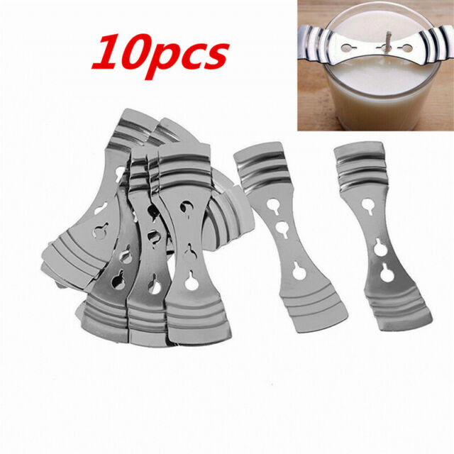 5pcs Metal Candle Wicks Holder Centering Device Clips Candle Making Tools