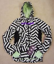Seawheeze Lululemon Downtime Jacket Which Way Sway Black WWSY/BLK 4 or 6