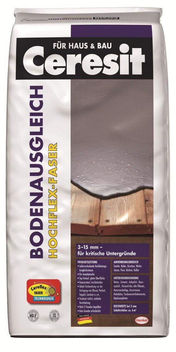 Ceresit Hochflex-Faser Bodenausgleich 25 kg