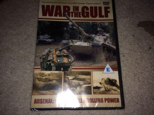 War in the Gulf /arsenal heavy metal/rolling power dvd