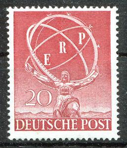 Berlin-71-sauber-postfrisch-Marshallplan-1950-Michel-100-00-Euro-MNH