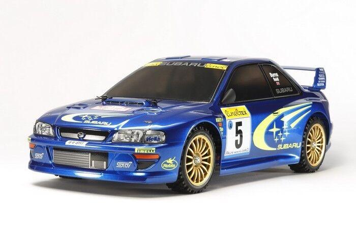 Tamiya RC Subaru Impreza TT-02 Monte-Carlo '99 Kit 58631