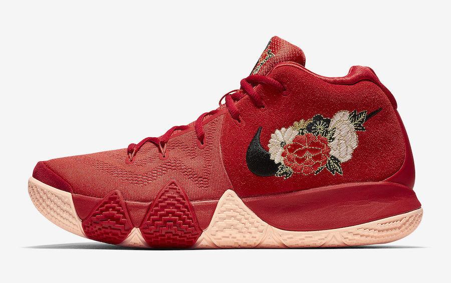 Nike Kyrie 4 CNY Chinese New Year Size 10.5. 943807-600 Jordan Kobe