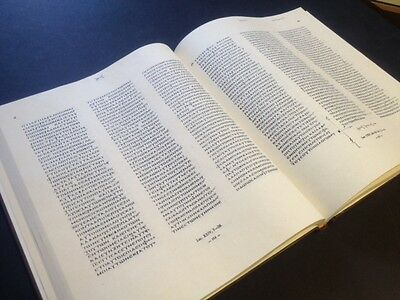 Codex Vaticanus New Testament Facsimile