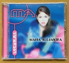 Maria Alejandra Locuras Como Pez En El Agua Merengue CD POLYGRAM 1997 MINT