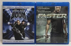 Doom-sin-censura-Blu-Ray-mas-rapido-Blu-Ray-Dwayne-la-roca-Johnson-2-Lote-Peliculas