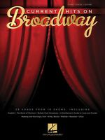 Current Hits On Broadway Sheet Music Piano Vocal Guitar Songbook 000129024