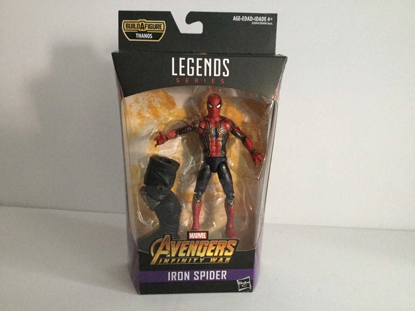 Marvel Legends AVENGERS INFINITY WAR IRON SPIDER SPIDER-MAN Figure MIB