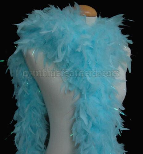 65 g chandelle Feather Boa avec pointes avec guirlandes 30 motifs pour ramasser de