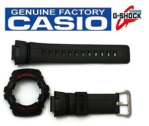 CASIO-G-Shock-Original-G-100-1BV-Black-Rubber-Watch-BAND-amp-BEZEL-Combo