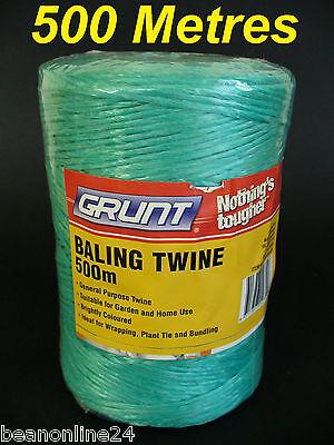 4 x 500 Metre Rolls String Bulk 2000 Metres Baling Twine Bailing