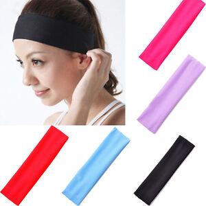 Femmes-Yoga-Sports-Bandeau-Elastique-Turban-Serre-tete-Cheveux-Accessoires