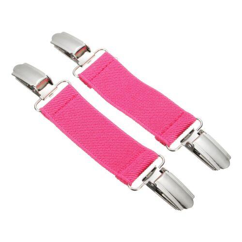 2X Stretch Dress Cinch Garment Skinny Belt Splice Clip Clasp Waistband Extender