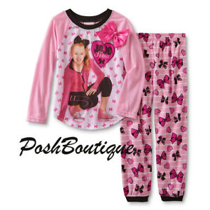 image is loading nwt jojo siwa dance bow pajamas pj set