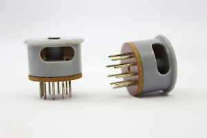 9 PINS SOCKET NOVAL SOCKET FOR CONNECTIONS. ZOCALO NOVAL PARA CONEXIONES. 1 PC.
