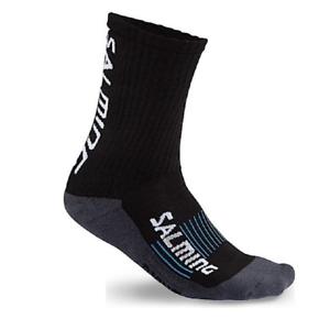 Salming Advanced Indoor Sport Handball Socks unisex black 1190620 1 SALE WOW
