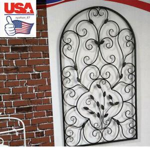 Spanish Antique Arch Steel Wall Art Kitchen Outdoor Garden Accent Patio Decor Us Ebay