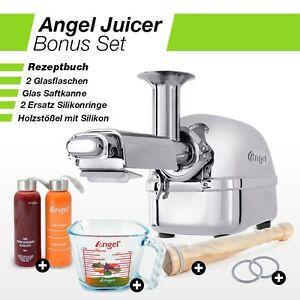 Angel-Juicer-8500S-Centrifugeuse-Inox-Presse-Agrumes-Im-Kit