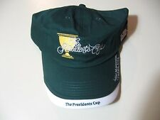 The Presidents Cup: cloth strap metal buckle adjustable hat/ball cap,NEW