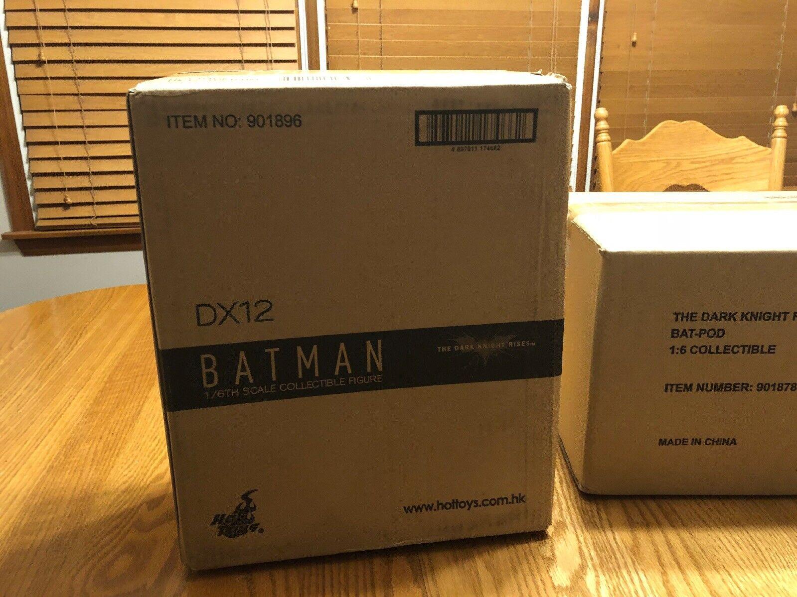 heta leksaker 1  6 figur läderlappen DX12 Den Mörke Riddaren reser sig aldrig och Batpod