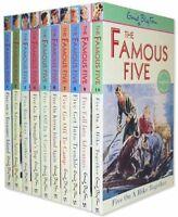 Enid Blyton Famous Five Series 10 Books Set- books 1 to 10