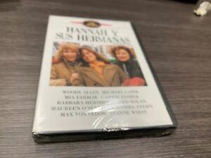 Hannah Y le Sorelle DVD Woody Allen Michael Caine Mia Farrow Sigillata Nuovo