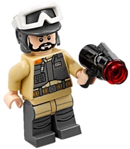 REBEL TROOPER Private Kappehl w// Blaster Minifigure Lego 75164 Star Wars NEW