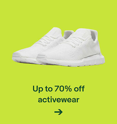 Up to 70% off activewear