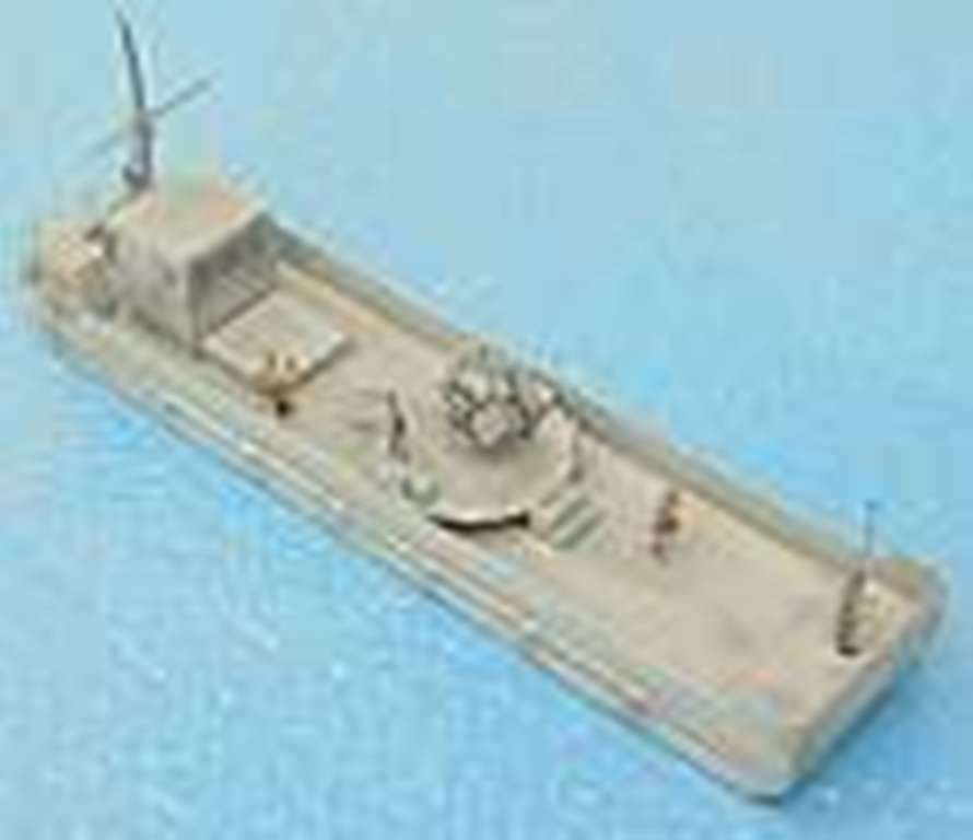 MGM 060 -009 1  72 hkonsts WWII Ferry båt Landing Guidance med Flak 38