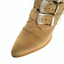 thumbnail 6 - ASOS Ryder Suede Buckle Western Taupe Ankle Boots 3 Retail £65