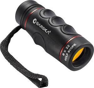 Barska-Golf-Monocular-Range-Finder-Scope-with-Case-amp-Wrist-Strap-8X22-AA10199