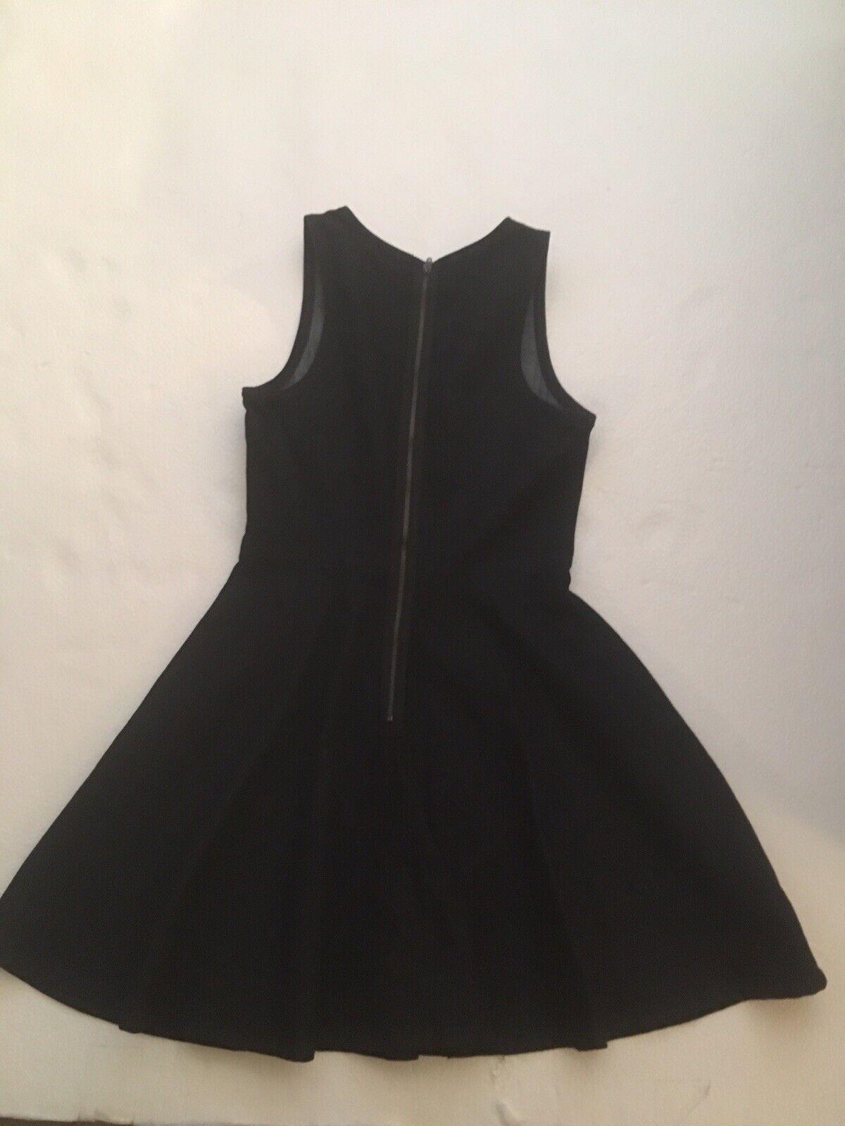 Gap Dark Wash Denim Jumper Dress Polka Dots Sz 0 … - image 2