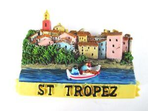 Aimant St. Tropez Cote D'azur Moulés, Souvenir France France, Neuf. *-enir Frankreich France,neu.*fr-fr Afficher Le Titre D'origine