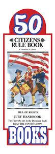 Original Citizens Rule Book Bill of Rights Jury Handbook Pocket Sized (50 pack)