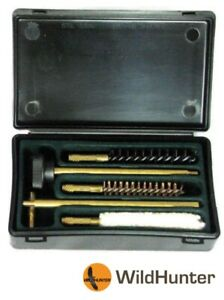 Wildhunter-Pistol-Cleaning-Kit-2-Piece-Rod-in-Case-9mm-or-22-Cal-Gun-Care