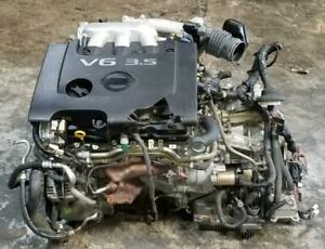 JDM Nissan Quest VQ35DE 3.5L V6 Engine Motor VQ35 Japan Imported 2004 2005 2006 2007 Canada Preview