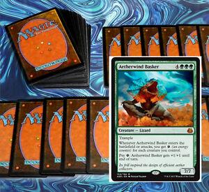 mtg-GREEN-ENERGY-DECK-Magic-the-Gathering-rare-60-cards-KAL-oviya