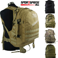 Tactical Molle Backpack Military Large Army 3day Waterproof Bag Assault Pack