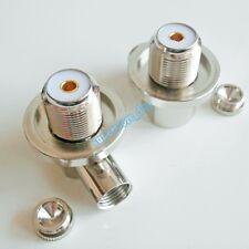 SO239 UHF female jack pin bulkhead 90° solder for RG5 RG6 LMR300 RG304 Connector