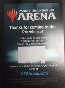 Details about EMAIL CODE ONLY - MTG ARENA Guilds of Ravnica PRERELEASE  Sealed Event - IN HAND