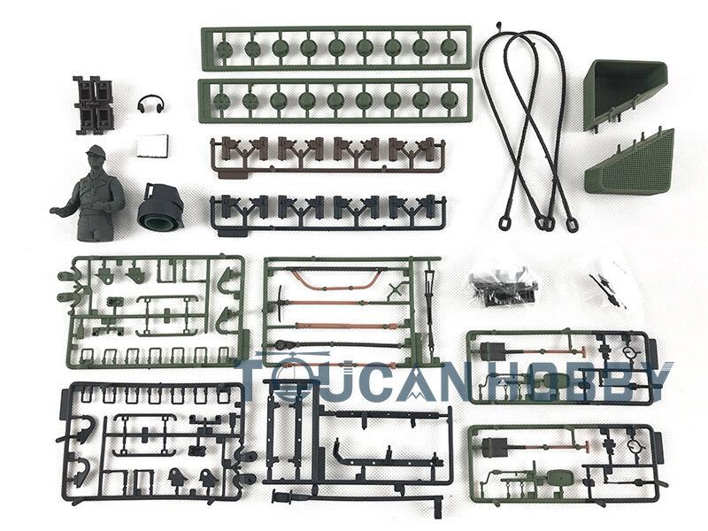 HengLong Accessory Parts Parts Parts Bag 1 16 Scale German Leopard2A6 RC Tank Model 3889 c19bc4