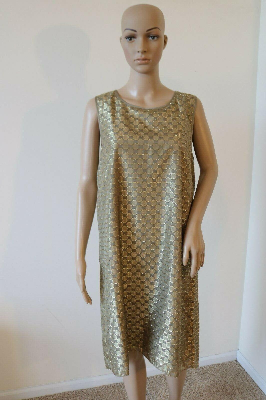NWT, Anthropologie, erin fetherston, Gilded Dot Dress, Größe 10