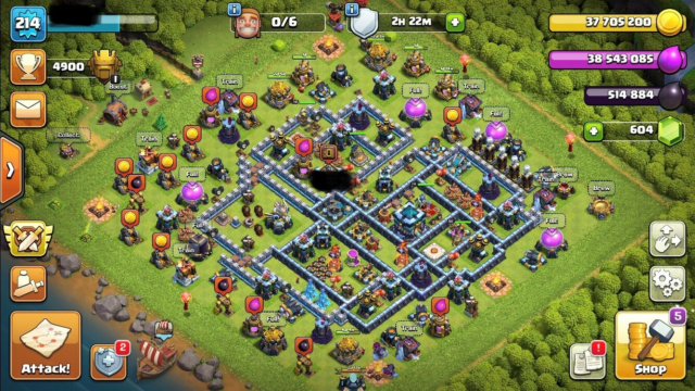 Clash of Clans Max TH13. Max builder base, Max Th13 med Max…