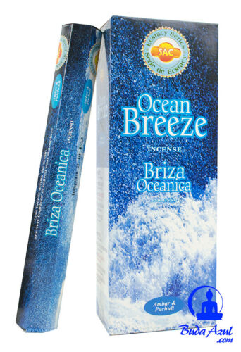 Free samples Incense Breeze oceanica 6 boxes 120 grams rods sac