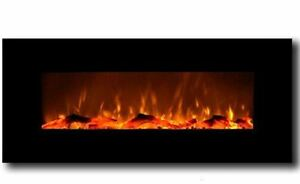 Wall-Mounted-LED-Electric-Fireplace-50-034-Foyer-Mural-electrique-a-DEL-50-034