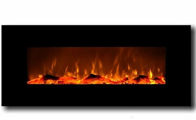 Wall Mounted LED Electric Fireplace 50