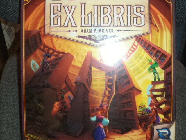 Ex Libris - Renegade Games Games Board Game New