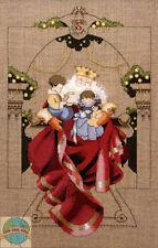 Cross Stitch Chart / Pattern ~ Mirabilia Christmas Wishes Santa Claus #MD61
