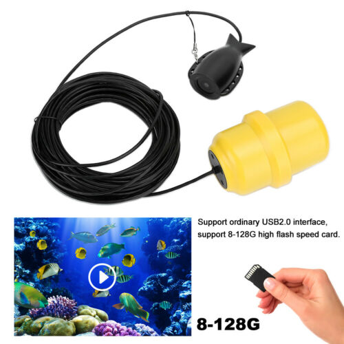WIFI 1080P Underwater Fishing Camera Professional Video Recorder System 8-128G