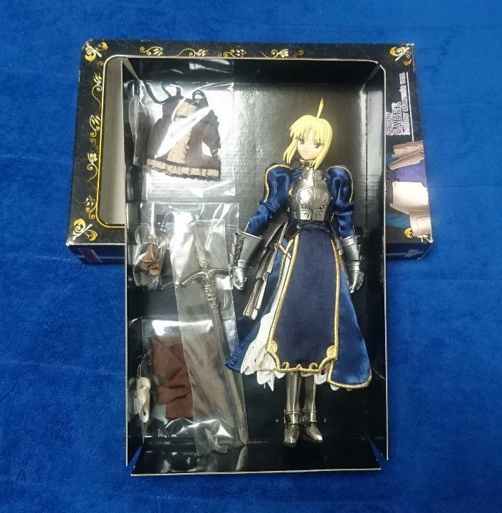 FATE HOLLOW Ataraxie Hybrid Active Figure Saber 27 cm Haute Qualité jouet poupée